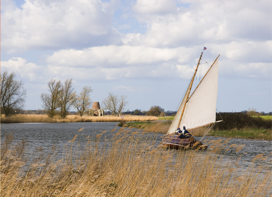 sailing on the bure